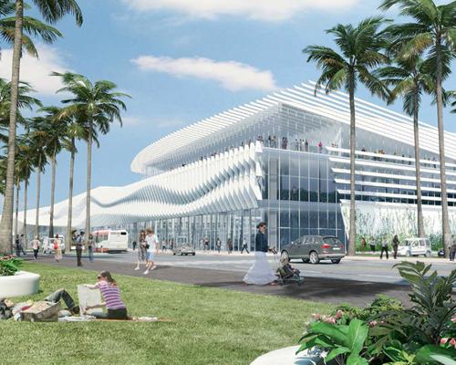 Fentress 建筑事务所设计迈阿密会议中心改造项目