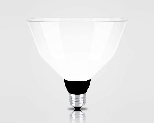 renaud defrancesco 设计LMP灯泡系列,扩展了灯罩面积