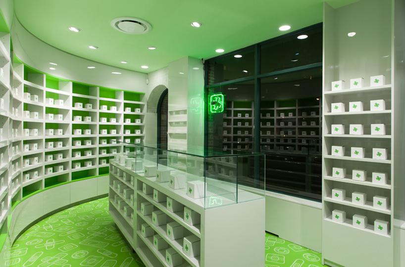 药店创意橱窗设计效果图