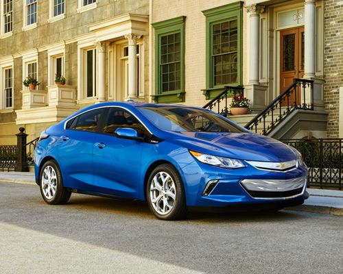 雪佛兰发布2016款全新 Volt 沃蓝达,车主平均行驶900英里才会加一次油