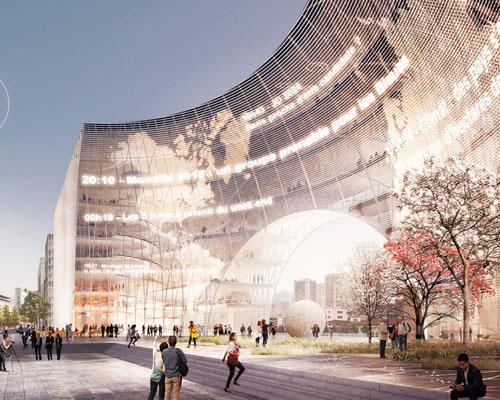 3XN建筑事务所公开其在法国巴黎 世界报 总部大楼的设计方案