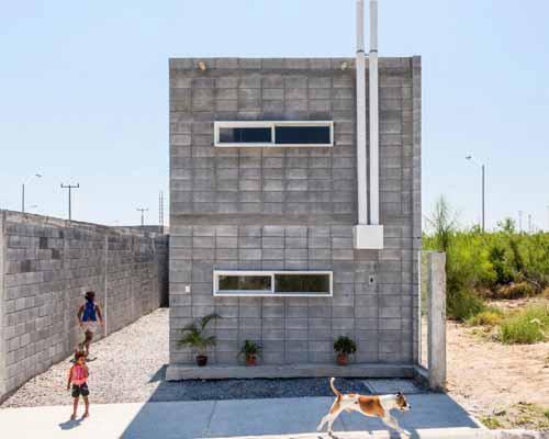 S-AR建筑事务所在墨西哥设计了盒子 住宅 ,为人们提供了经济 住宅