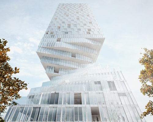 MVRDV赢得维也纳hochhaus 塔楼 项目设计权