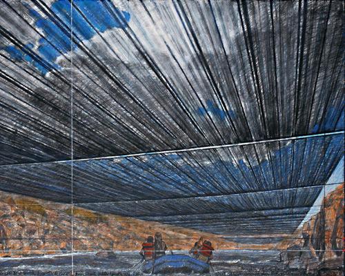 christo 阿肯色河上艺术项目获批准