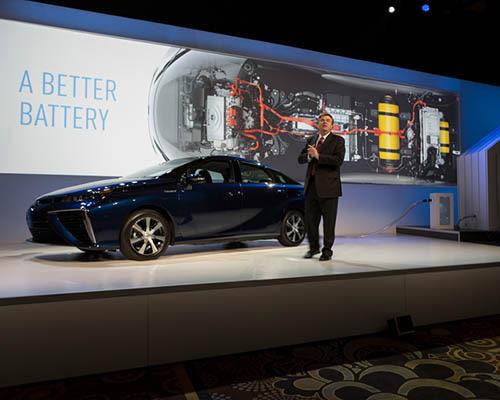 丰田 开放氢燃料电池技术,5600余种专利得以免费使用