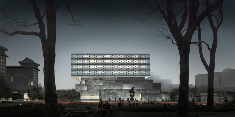 奥雷·舍人 设计的北京 嘉德艺术中心