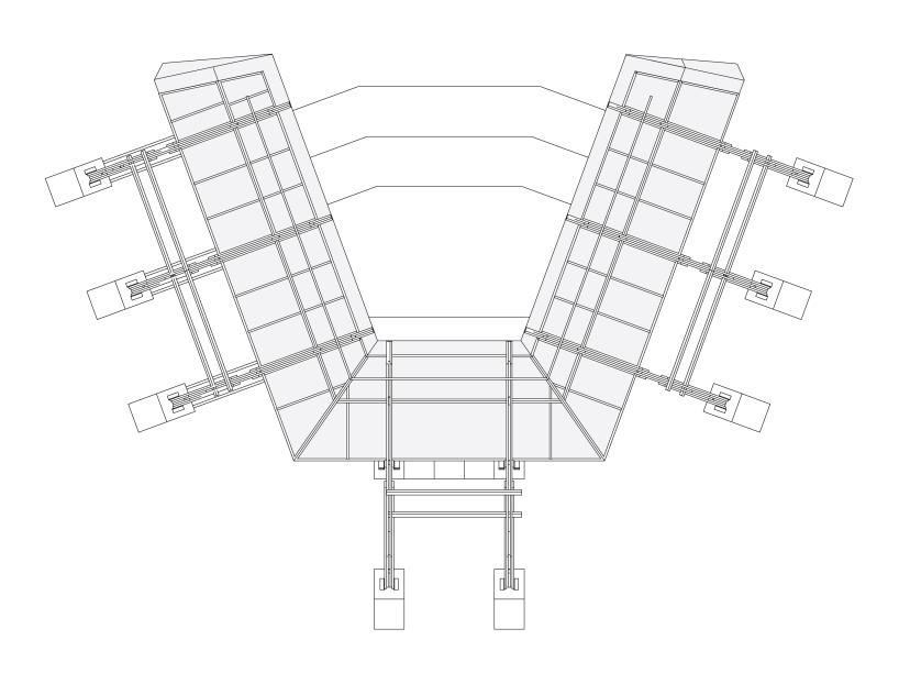 舞台结构剖面图