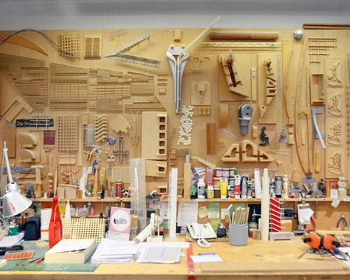 设计邦参观 伦佐·皮亚诺 巴黎的工作室