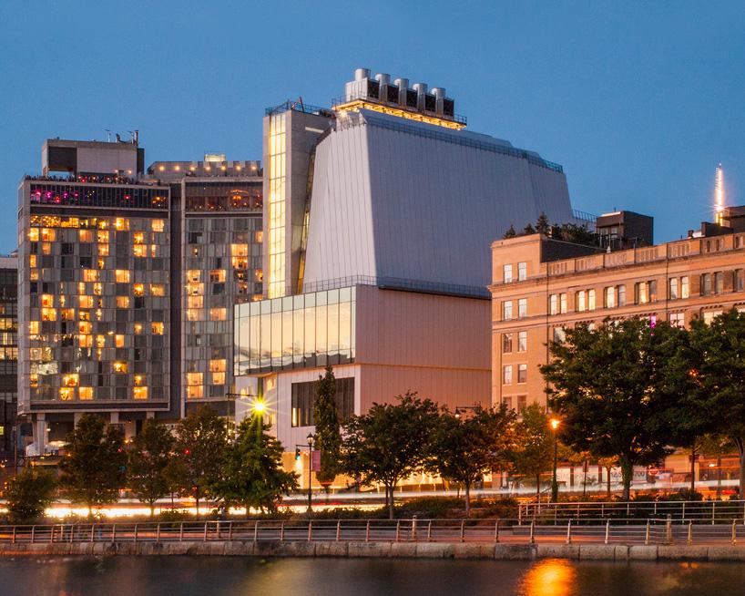 伦佐皮亚诺 设计的惠特尼美国艺术博物馆对外开放