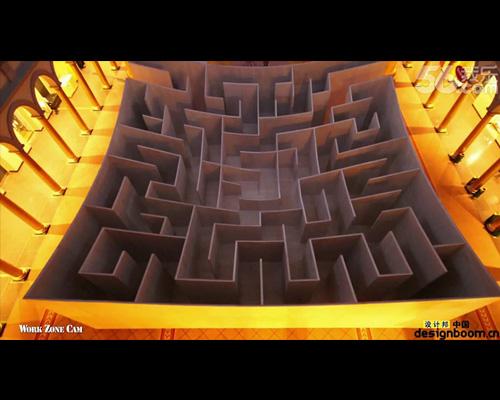 bjarke在国家建筑博物馆展出巨型迷宫