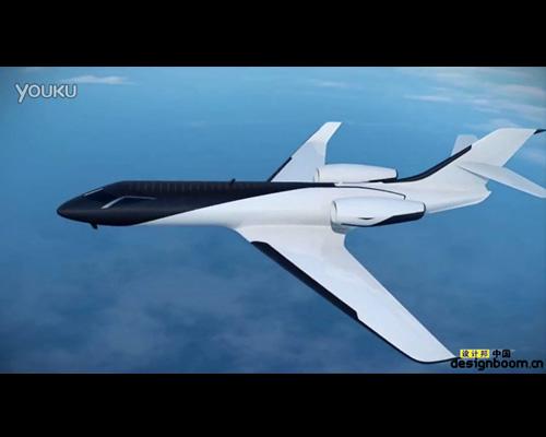 用透明太阳能板替代窗口的喷气式飞机IXION