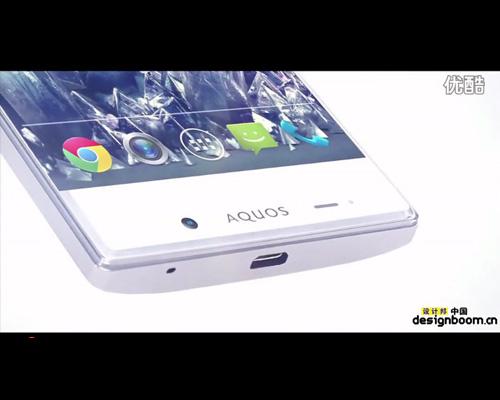 夏普aquos超窄边框水晶手机