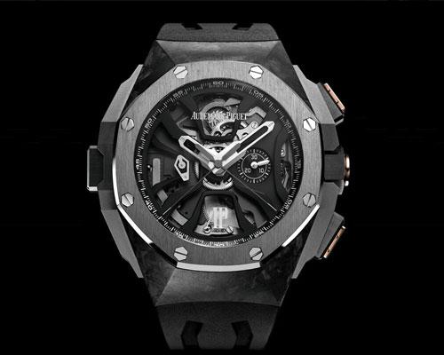 爱彼发布皇家橡树系列舒马赫限量款计时腕表
