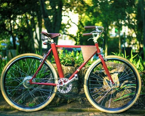 """电动复古style单车""""vela""""——逼格爆表,绿色环保!"""