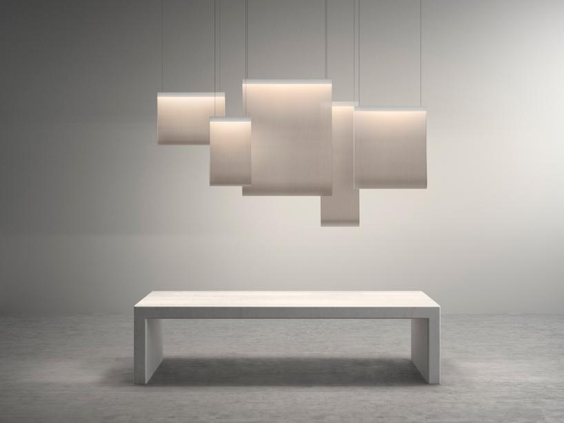 levy打造可分隔空间的挂帘灯