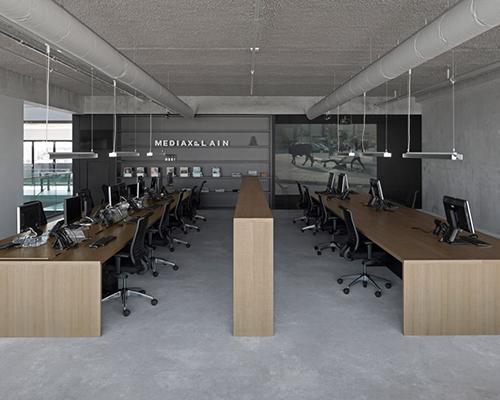 i29室内设计 与VMX事务所合作共同为阿姆斯特丹一媒体代理公司建造办公大楼