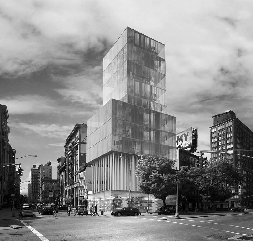 创意设计工作室dror公布的3个概念住宅塔楼设计