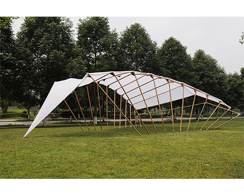 竹材料展示空间系列1