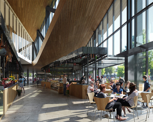 Snohetta公布波特兰公共市场的设计方案