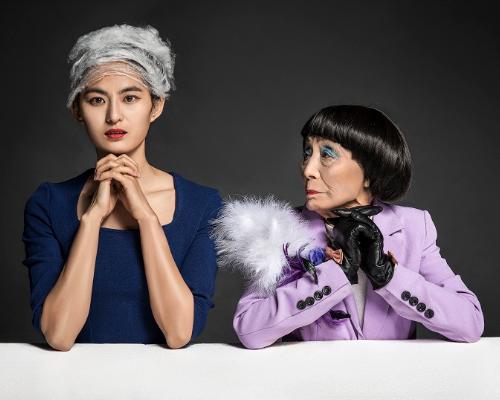 马风云对话老时尚--80后摄影师公益摄影模特征集