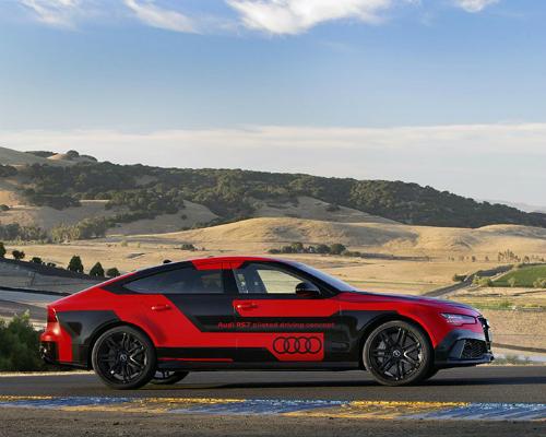 减重加升级,新款奥迪RS 7自动驾驶概念车挑战索诺玛赛道