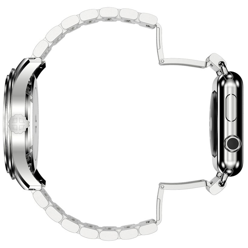 推出一根表带串起瑞士豪华名表和苹果智能腕表的连体