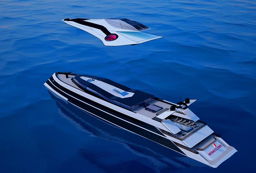 未来游艇平面设计图