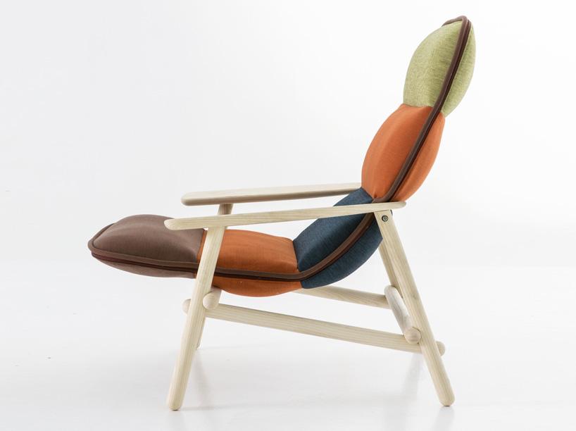 patricia urquiola为moroso设计现代风格的座椅沙发