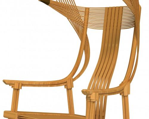 清庭茶·竹·樂展预热 椅优弦 一把好椅子