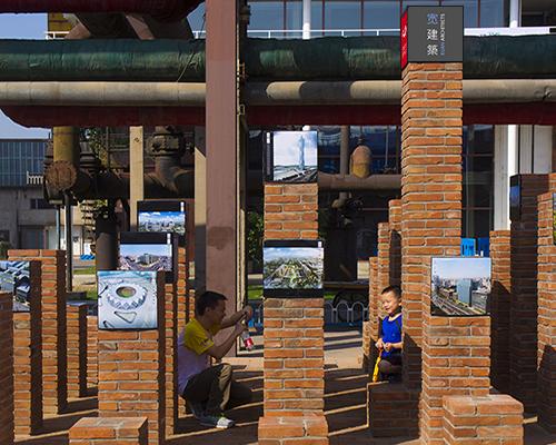 微缩城市 | 王宽为北京设计周751创作大型户外互动艺术装置