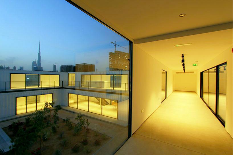 集裝箱建筑為迪拜打造創意產業孵化器_設計邦-全球和
