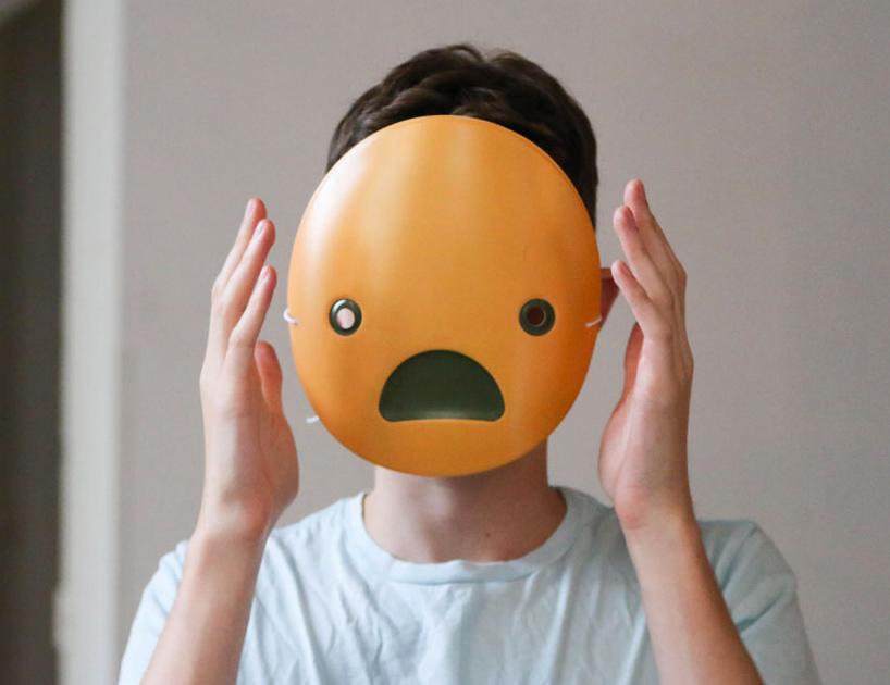 表情面具推新款 万圣节更多欢笑