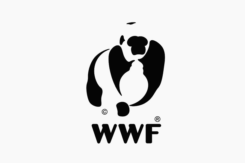 """为了向世人描绘出日剧加重的珍稀物种灭绝危机,白俄罗斯设计师yana makarevich用变形后的""""世界自然基金会""""(WWF)的熊猫标志,创作了""""not just a panda campaign""""(熊猫之外)系列设计。她用数位化的形式,将这枚能够被人们一眼认出的WWF熊猫标志,变成了山地大猩猩、加拉帕戈斯企鹅和马达加斯加陆龟等三种濒临灭绝的野生动物。原来标志中的每一笔形状与线条都在新的形象中得到使用,用动感和灵活的流动形式,把一个形象转换为另一种。这件作品"""