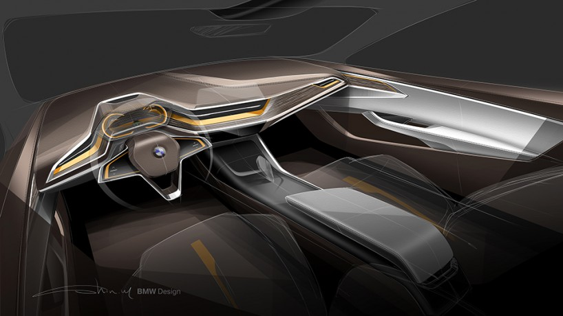 概念车的内饰展示图头宝马汽车集团提供