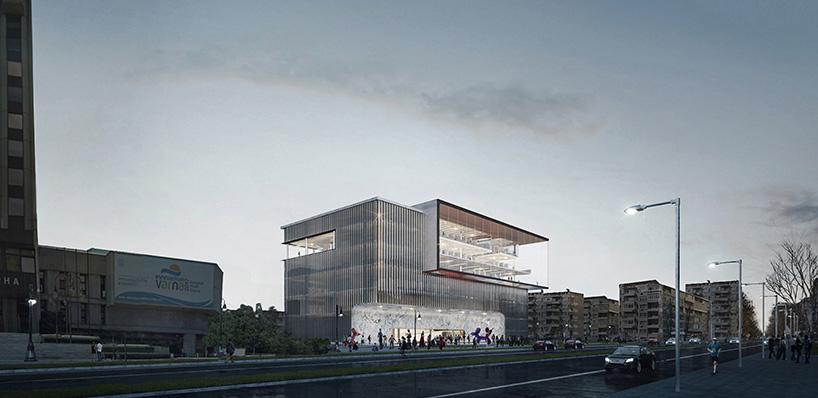 透明的阅读空间 瓦尔纳图书馆竞赛方案