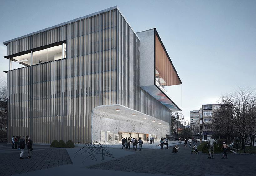 透明的阅读空间 瓦尔纳图书馆竞赛方案_设计邦-全球和