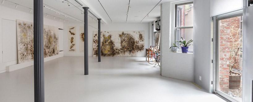 蔡国强纽约工作室的翻新——OMA