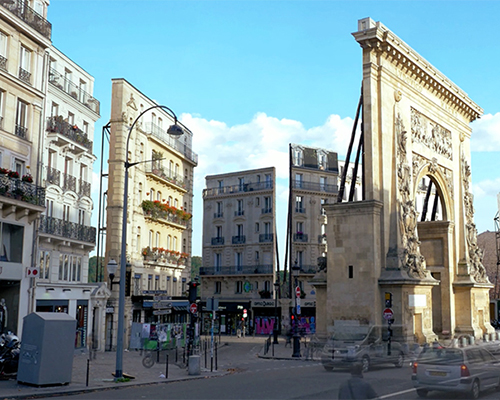 claire & max把巴黎变为了虚幻的电影场景