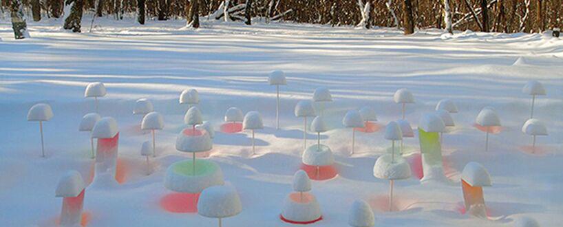 北海道带广艺术博物馆里的白雪作品