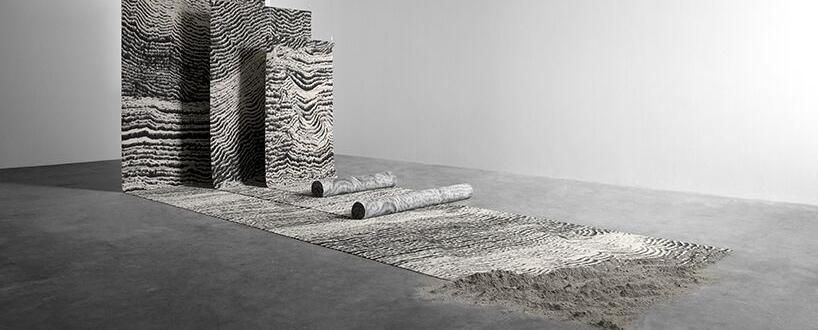 tom dixon的地毯系列 工业景观的生动描绘