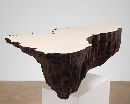 lin制作木制水下海景雕塑