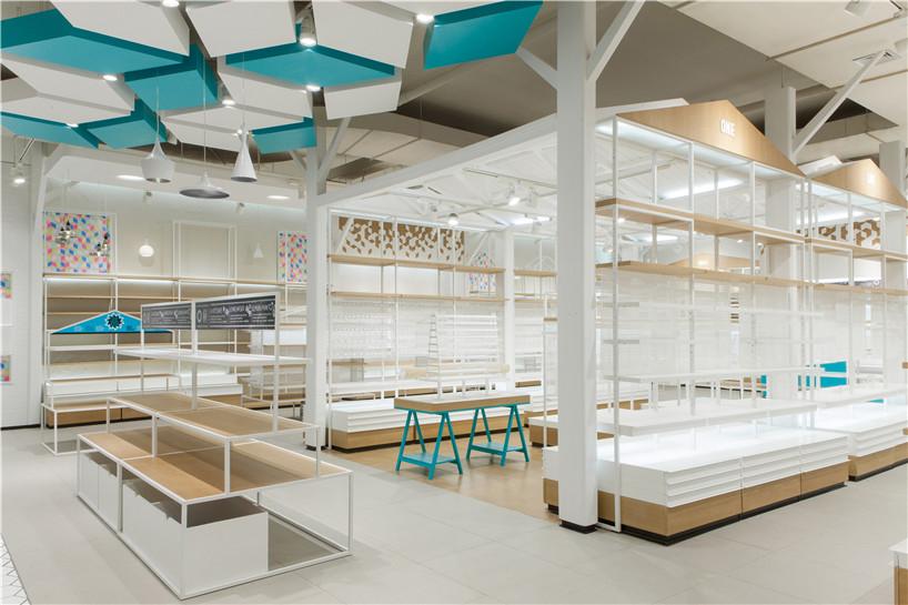 oneidea商业店设计_机械装修设计_紫业形象设计时代工业4.0国际设计图片
