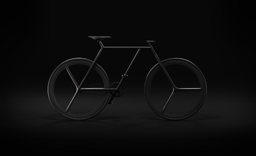 架极简自行车baik