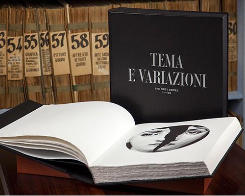 fornasetti推出手工限量版收藏纪念册《tema e variazion》