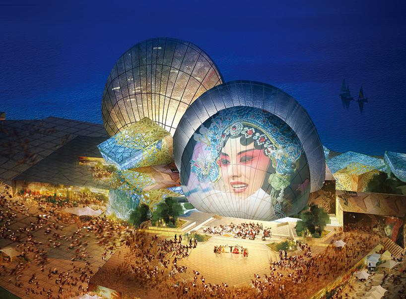珠海歌剧院项目选址于香洲湾野狸岛上,临山听海,与繁华城区一桥之隔