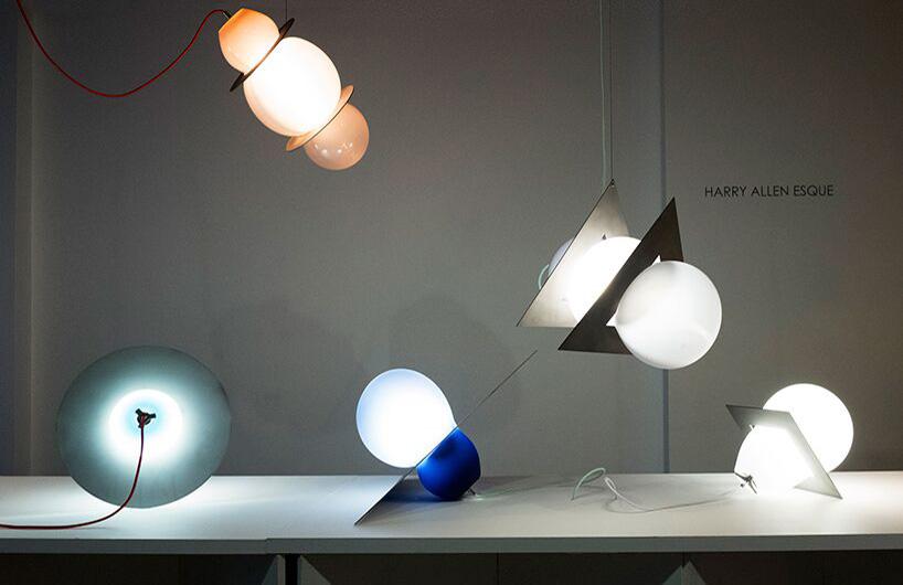 harry allen esque系列灯饰 玻璃与金属完美结合
