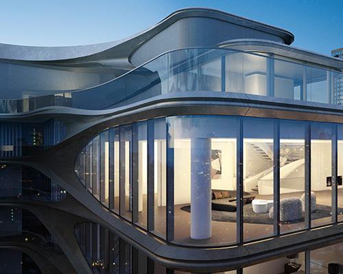 扎哈设计的520 west 28th豪华公寓出售  最高售价5000万美元