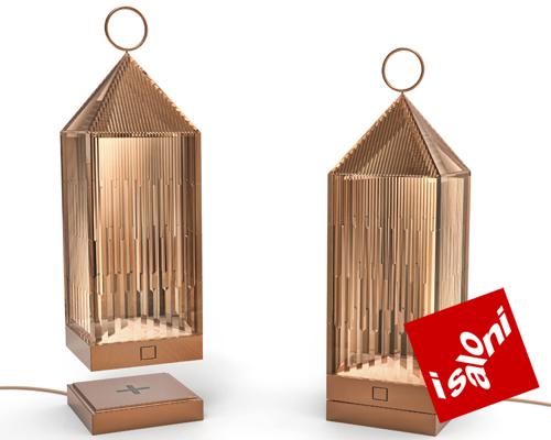 设计鬼才fabio novembre分别为venini 与kartell设计的灯饰作品muse+ lantern