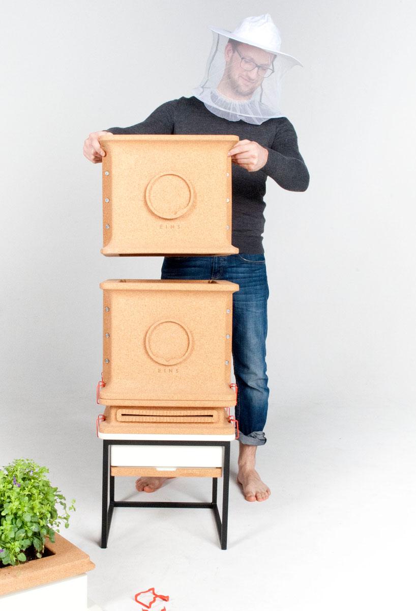新一代模块结构蜂箱 打造新生态养蜂业