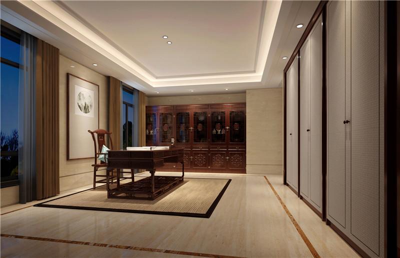中式设计案例:高尔夫别墅